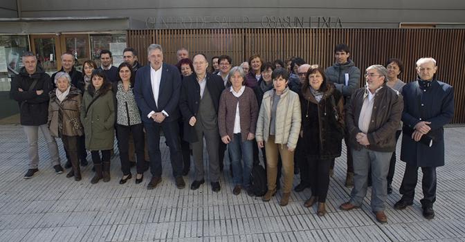 Pamplona y entidades sociales ponen en marcha el 'Pacto por la persona mayor'