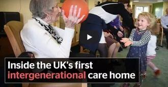 Visto en la red. Primera residencia intergeneracional en Reino Unido