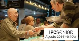 La pérdida de poder adquisitivo en el interanual de agosto en colectivo senior es del -0,45%