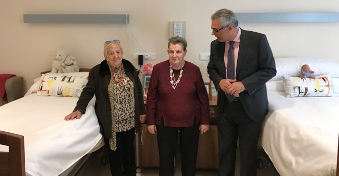 Madrid aumenta y mejora las plazas para mayores dependientes en la Residencia Vista Alegre