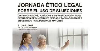 Jornada ético legal sobre uso de sujeciones