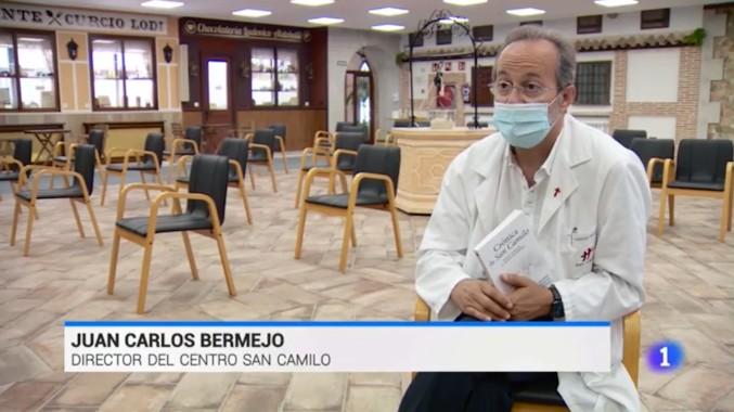 Visto en la red: Lares San Camilo cuenta la historia de una madre y su hija que superan la COVID