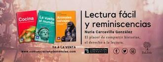 La psicóloga Nuria Carcavilla presenta una colección de libros para personas con problemas de memoria