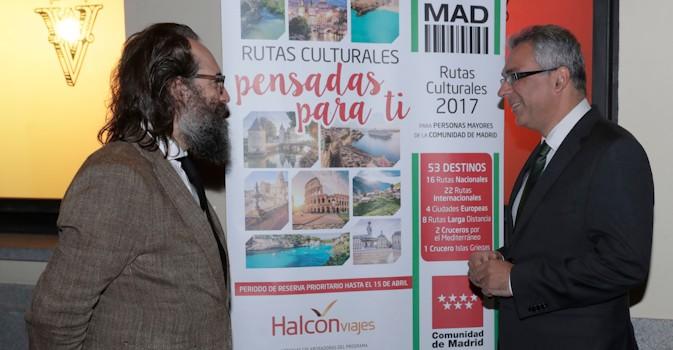 Más de 160.000 plazas en las Rutas Culturales de la Comunidad para mayores