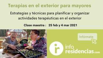 Aula Virtual de Inforesidencias: Clase maestra de Jardines terapéuticos