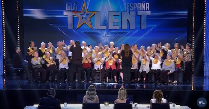 Visto en la red: ¿Todavía no ha visto la actuación del coro de personas con alzhéimer en Got Talent?
