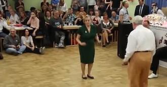 Visto en la red: Una lección de baile