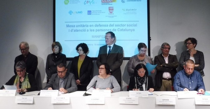El sector de la dependencia en Cataluña, contra unos presupuestos que no priorizan al mayor