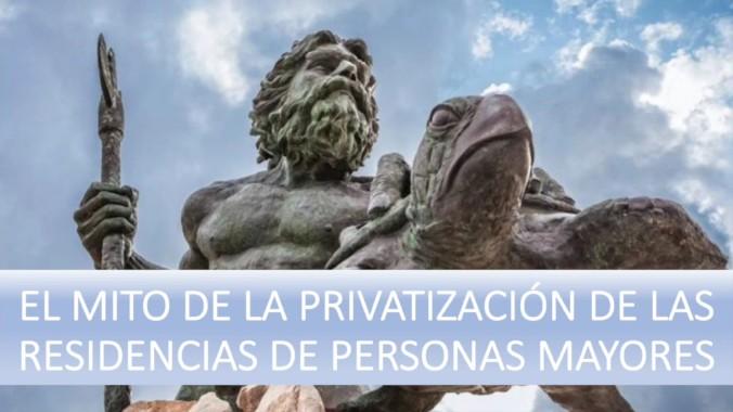 Desmontando el mito de la privatización de las residencias de mayores.