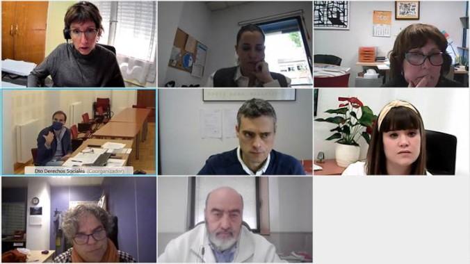 Comisión de expertos en Navarra para implantar el nuevo modelo ACP en residencias y centros asistenciales.