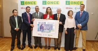 Madrid presenta el cupón de la ONCE dedicado al Día de las Personas Mayores