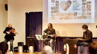 Un concierto de músicos con daño cerebral adquirido en la residencia ORPEA Madrid Mirasierra.