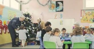 Visto en la red: Mayores y pequeños disfrutando de los preparativos de la Navidad en un centro ORPEA