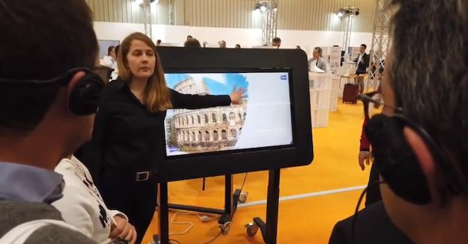 Canal Inforesidencias.com: Una pantalla interactiva para residentes con demencia