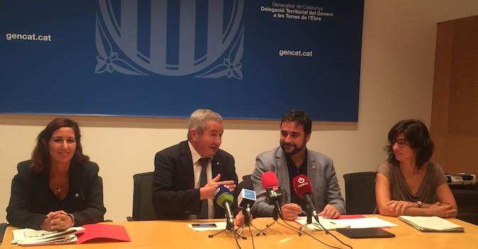 La Generalitat anuncia 233 plazas nuevas para mayores y discapacitados en Tierras del Ebro