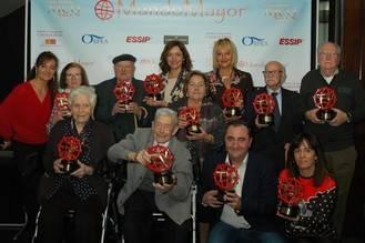 La Gala de entrega de los Premios Nico 2017, otra gran fiesta del cine senior