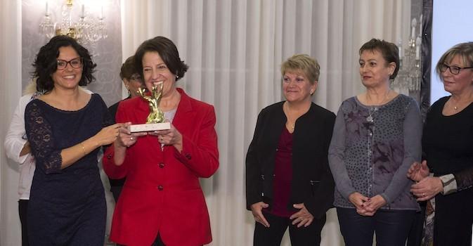Las auxiliares en geriatría protagonizan los Premis ACRA