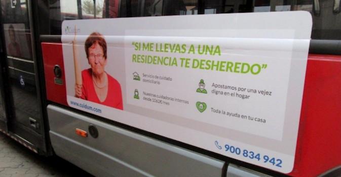 Polémica campaña publicitaria en Valencia