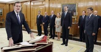 Casi un año después, España vuelte a tener presidente: Mariano Rajoy