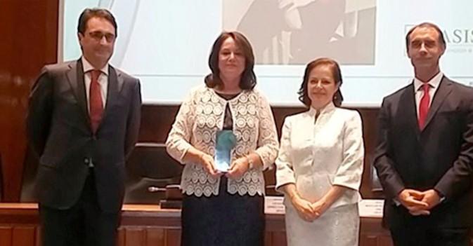 Sabina Camacho, premio Senda a la mejor profesional del sector