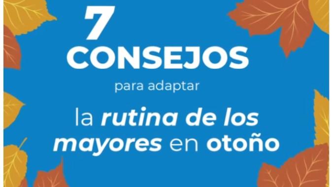 Consejo de Sanitas Mayores de cara al otoño.