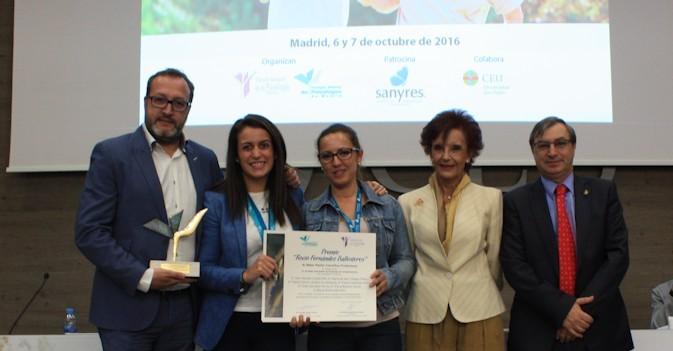 Sanyres, premiado por su innovación con la aplicación de musicoterapia pasiva
