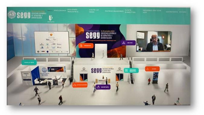 I Congreso Virtual SEGG: La actualización de los tratamientos, el edadismo y nuevos modelos asistenciales