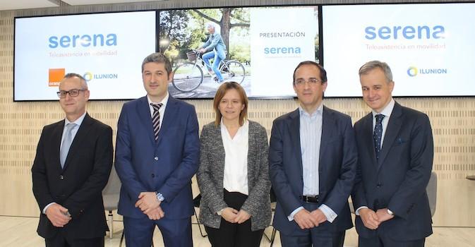 ILUNION Sociosanitario y Orange lanzan 'Serena', la teleasistencia en movilidad