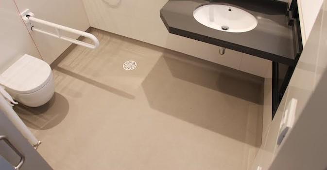 Casa Vapor Gran Mútua Terrassa elige suelos Altro para sus baños