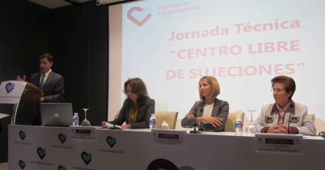La Junta programa acabar con las sujeciones en los centros públicos de Castilla y León