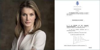 La Reina acepta la Presidencia de Honor de los próximos Premios SUPERCUIDADORES