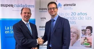 Acuerdo de colaboración entre SUPER Cuidadores y Atenzia