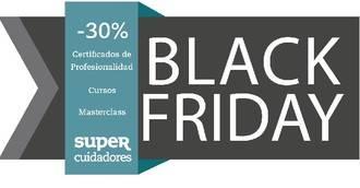 Descuentos del 30% en la formación de SUPER Cuidadores durante el 'Black Friday' y el 'Cyber Monday'