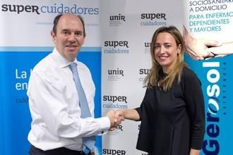Acuerdo de colaboración entre SUPER Cuidadores y Gerosol