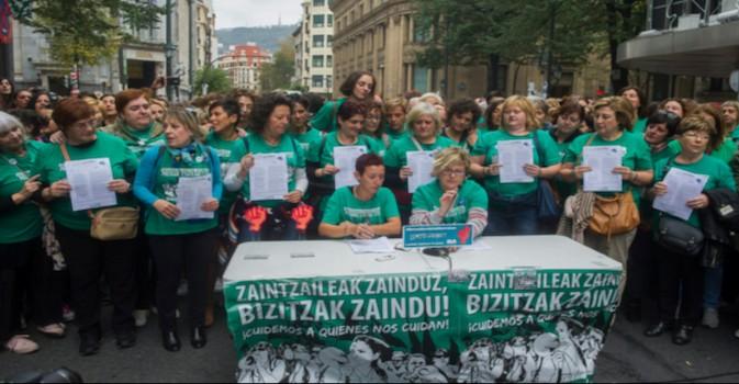 Empresarios y trabajadores firman la paz en el sector residencial en Vizcaya