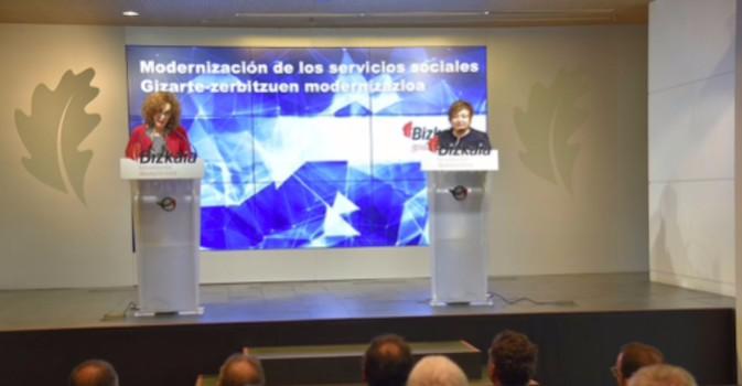 Vizcaya apuesta por la mejora de los servicios sociales de base