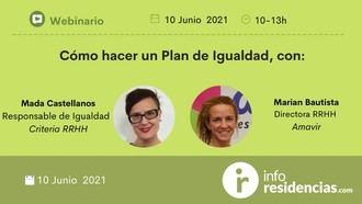 Webinario sobre Planes de Igualdad para residencias.