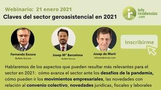 Webinario Claves del sector geroasistencial 2021