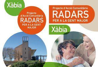 El ayuntamiento de Xàbia implica a la sociedad en el proyecto Radars para luchar contra la soledad en los mayores